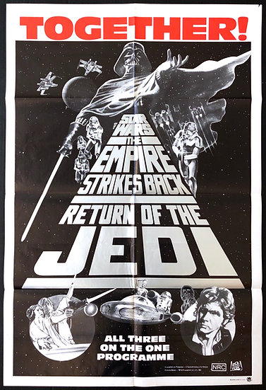 The Star Wars Trilogy R1985 - SOLD