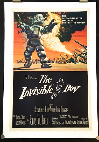The Invisible Boy 1957 - SOLD