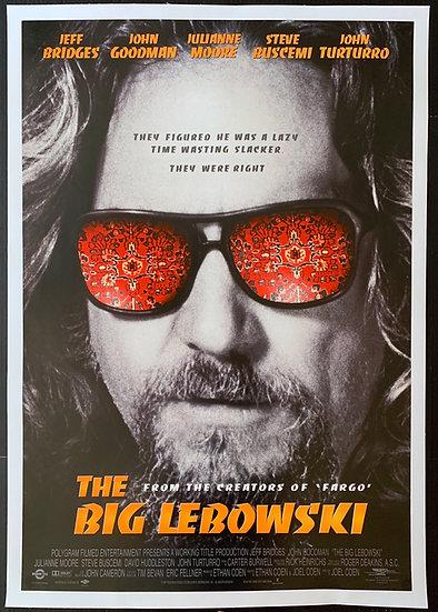 The Big Lebowski 1998 International One Sheet -SOLD