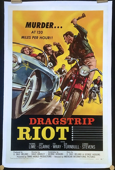 Dragstrip Riot 1958 - SOLD