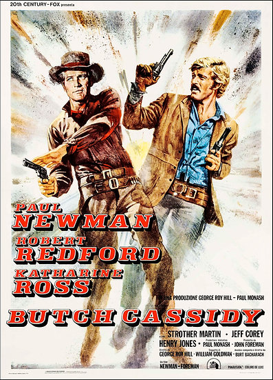 Butch Cassidy and the Sundance Kid R1970 - SOLD