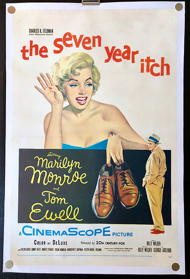 The Seven Year Itch 1955 - SOLD