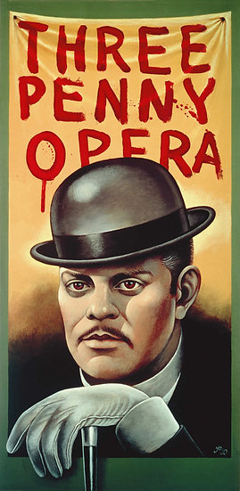Threepenny Opera Stage Play 1976 - SOLD