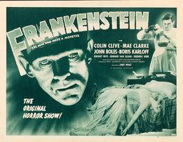 Frankenstein 1931 Original Movie Poster