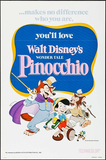 Pinocchio R1978 - SOLD