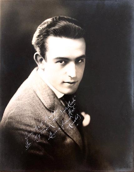 Harold Lloyd Autograph and Inscription 1910s
