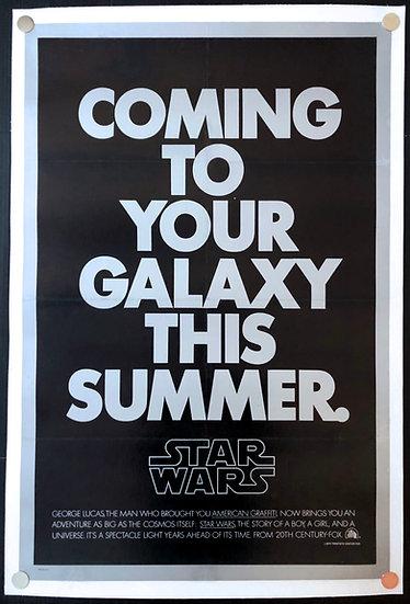 Star Wars 1977 Second Advance - SOLD