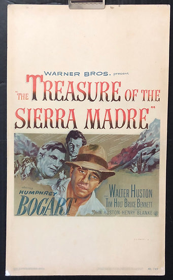 Treasure of the Sierra Madre 1948 - SOLD