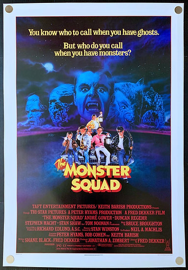 The Monster Squad 1987 - SOLD