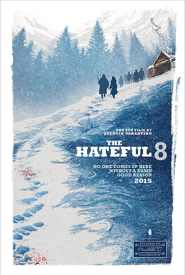 The Hateful Eight 2015 - SOLD