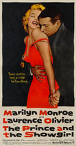 The Prince and the Showgirl 1957 LINEN BACKED