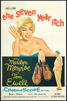 The Seven Year Itch 1955 LINEN BACKED