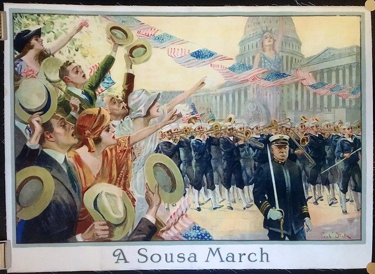 A Sousa March 1918 - SOLD