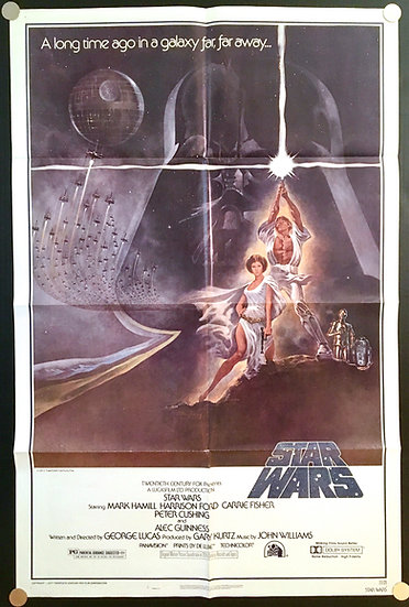 Star Wars 1977 Style A - SOLD