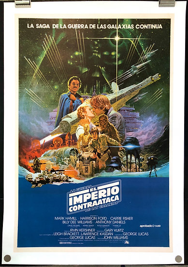 The Empire Strikes Back 1980 - SOLD