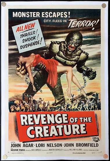 Revenge of the Creature 1955 - SOLD