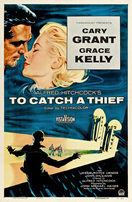 To Catch a Thief 1955 LINEN BACKED