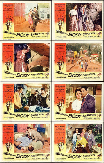 Invasion of the Body Snatchers 1956 Autographed - SOLD