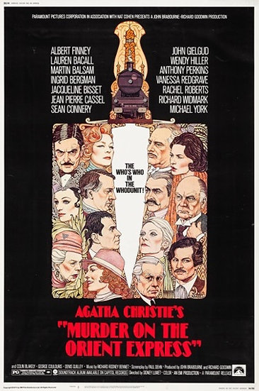 Murder on the Orient Express 1974 - SOLD