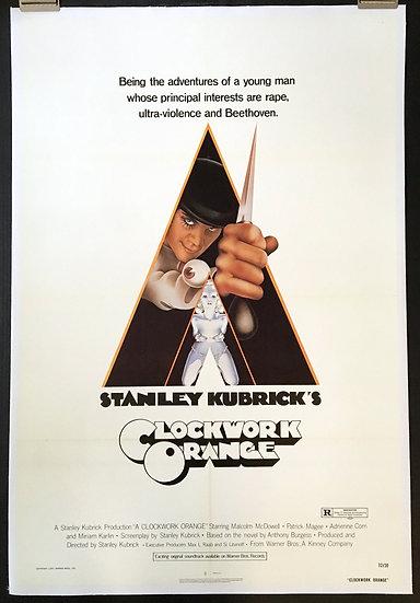 A Clockwork Orange 1971 - SOLD
