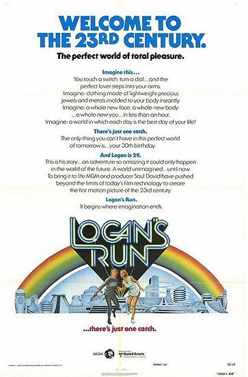 Logan's Run 1976 - SOLD