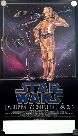 Star Wars Radio Drama 1981 - SOLD