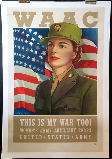 WAAC Women's Army Auxiliary Corps 1943 - SOLD