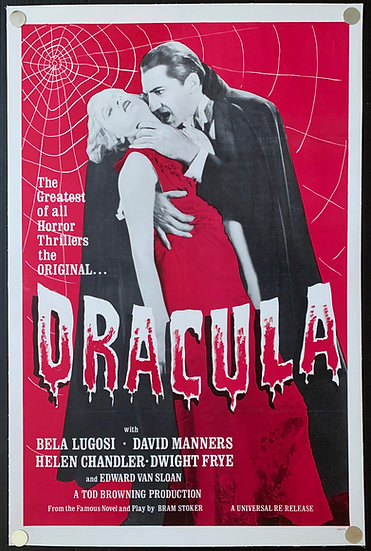 Dracula 1931 (R-1960's) Re-release