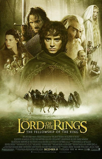The Fellowship of the Ring 2001 - SOLD