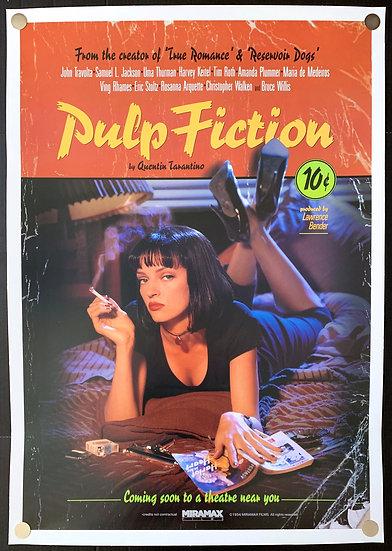 Pulp Fiction 1994 Recalled Advance