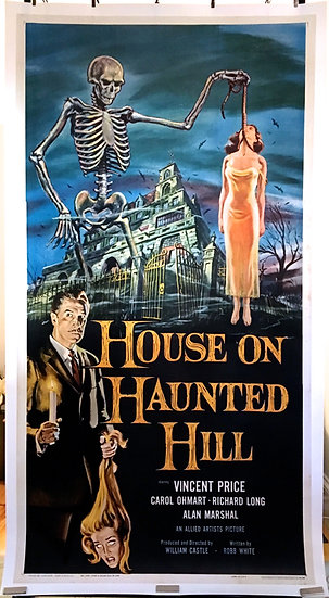 House on Haunted Hill 1959 - SOLD