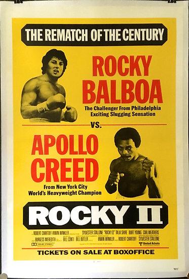 Rocky II 1979 - SOLD