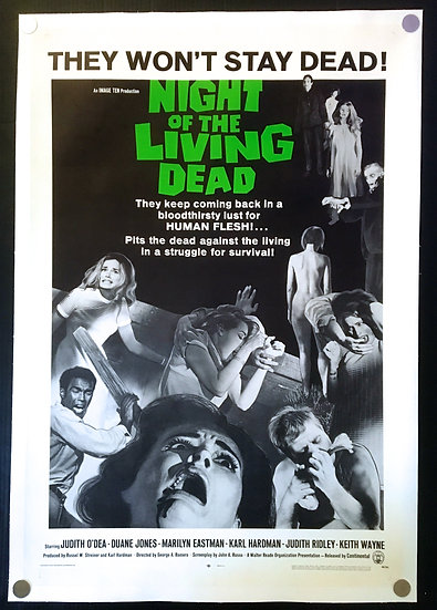 Night of the Living Dead 1968 SOLD