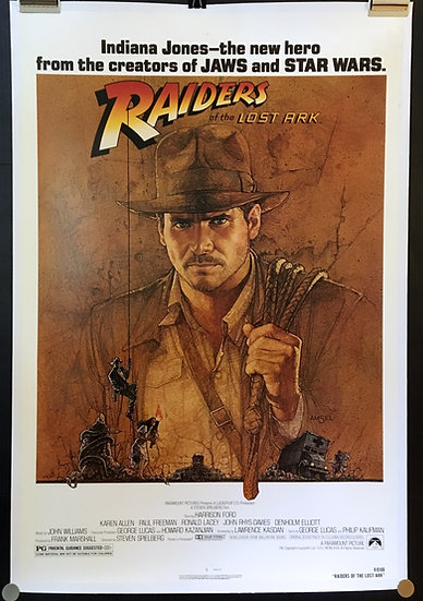 Raiders of the Lost Ark 1981 - SOLD
