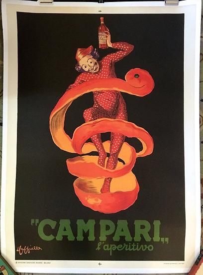 Campari L'Aperitivo by Cappiello 1950 - SOLD