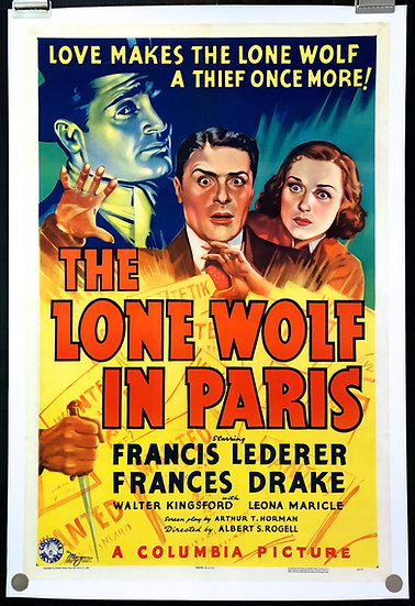 The Lone Wolf in Paris 1938