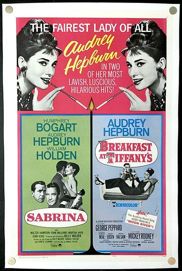 Sabrina/Breakfast at Tiffany's R1965 Double Bill