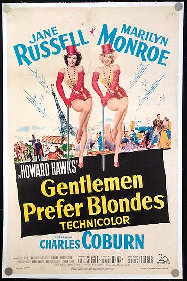 Gentlemen Prefer Blondes 1953 - SOLD
