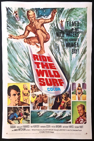 Ride the Wild Surf 1964 - SOLD