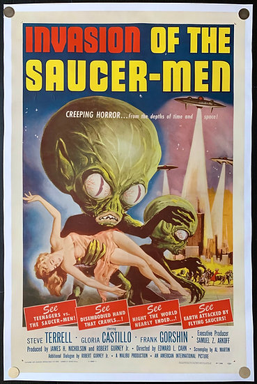 Invasion of the Saucer-Men 1957 - SOLD