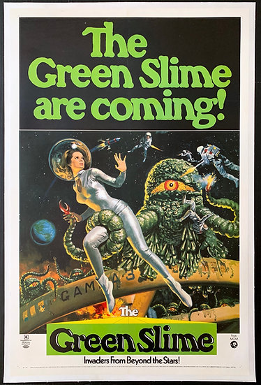 The Green Slime 1969 - SOLD