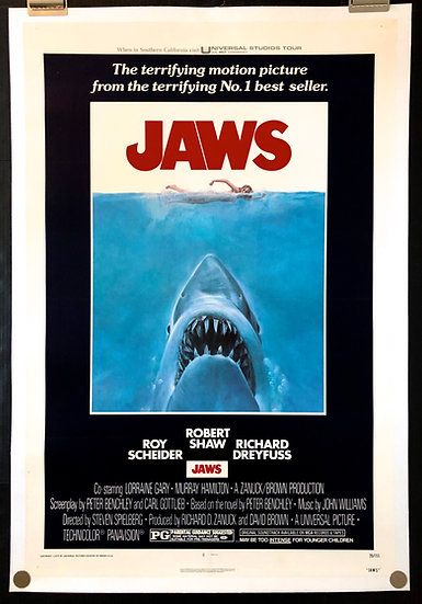 Jaws 1975 - SOLD