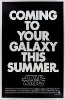 Star Wars 1977 LINEN BACKED