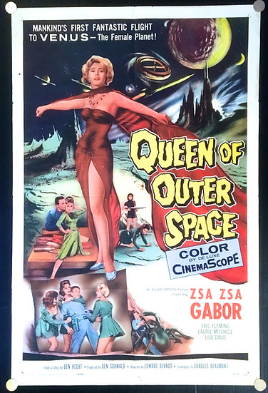 Queen of Outer Space 1958 - SOLD