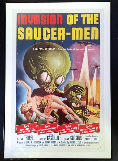 Invasion of the Saucer-Men - SOLD