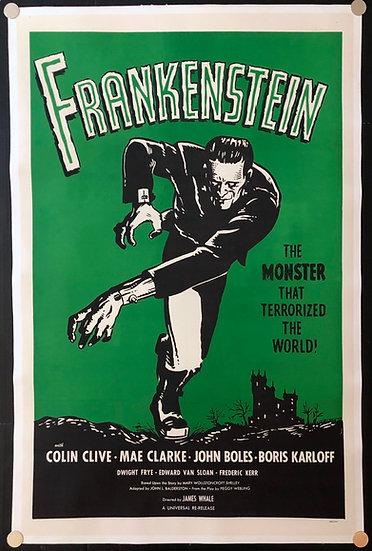 Frankenstein 1931 (R1960's)