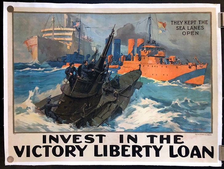 Invest in the Victory Liberty Loan ca.1917 - SOLD