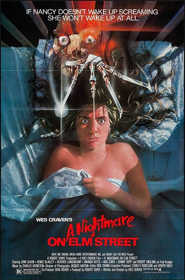 A Nightmare On Elm Street 1984 SOLD