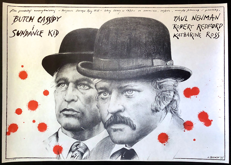Butch Cassidy and the Sundance Kid 1983 - SOLD
