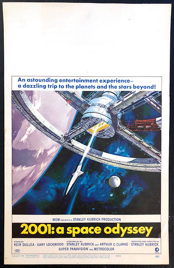2001: A Space Odyssey 1968 - SOLD